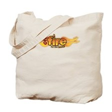 On Fire for the Lord Tote Bag