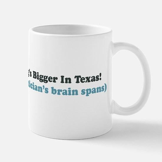 Bigger in Texas Mug