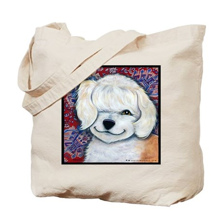 Terrier Mix Tote Bag