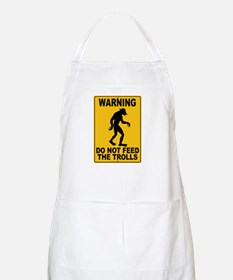 Do Not Feed the Trolls BBQ Apron
