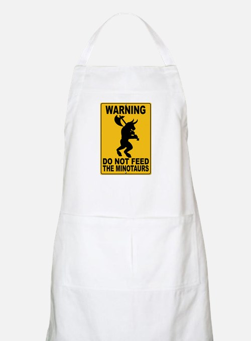 Do Not Feed the Minotaurs BBQ Apron