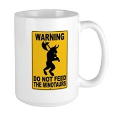Do Not Feed the Minotaurs Mug
