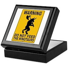 Do Not Feed the Minotaurs Keepsake Box