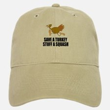 Vegetarian Thanksgiving Baseball Baseball Cap