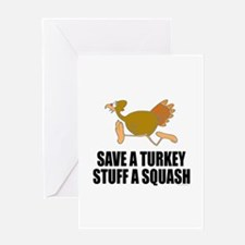 Vegetarian Thanksgiving Greeting Card