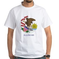 Illinois Flag T-shirt