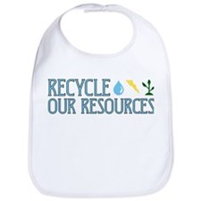 Recycle Our Resources Bib