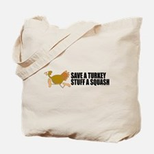 Vegetarian Christmas Tote Bag