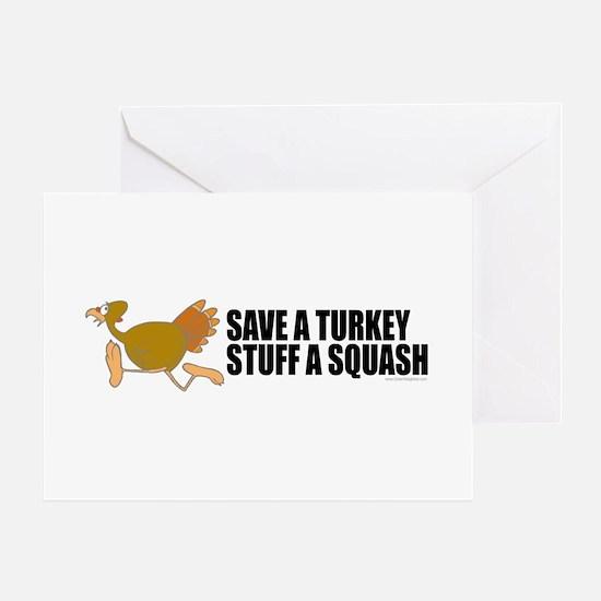 Vegetarian Christmas Greeting Card