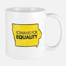Iowans for Equality-Yellow Mug