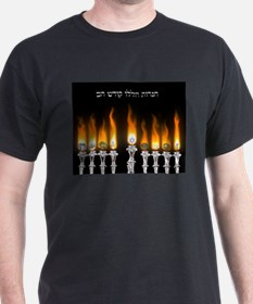 Chanuka Menorah T-Shirt