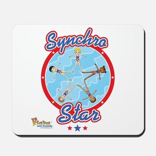 Synchro Stars1 Mousepad