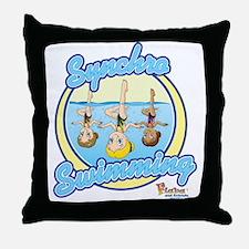 Synchro Stars2 Throw Pillow