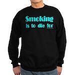 Anti-Smoking Sweatshirt (dark)