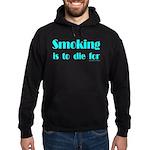 Anti-Smoking Hoodie (dark)