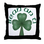Woman of the House Throw Pillow