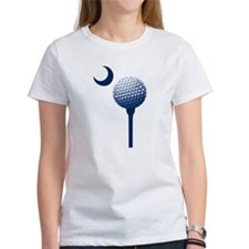 South Carolina Golf Ball and Crescent Tee