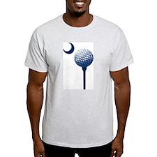 South Carolina Golf Ball and Crescent T-Shirt