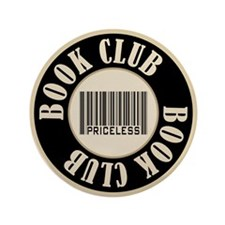"Book Club is Priceless 3.5"" Button"