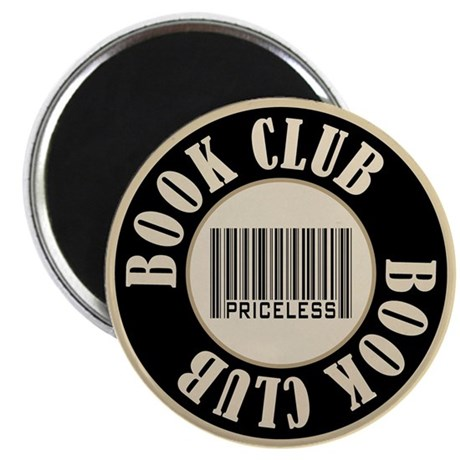 Book Club is Priceless Magnet