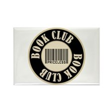 Book Club is Priceless Rectangle Magnet