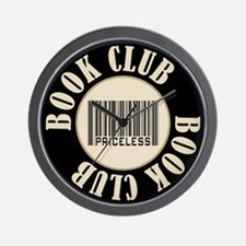 Book Club is Priceless Wall Clock