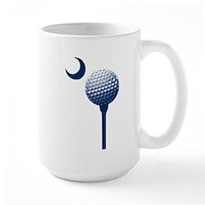 South Carolina Golf Ball and Crescent Mug