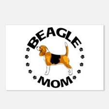 Beagle Mom Postcards (Package of 8)