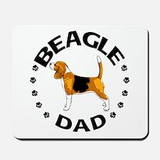 Beagle Dad Mousepad
