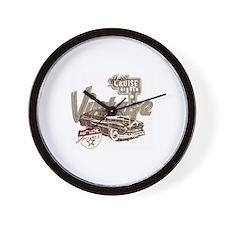 Classic Lowrider Car Wall Clock