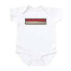 Original Homeland Security Infant Bodysuit