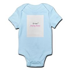Smarty Pants Pink Infant Bodysuit