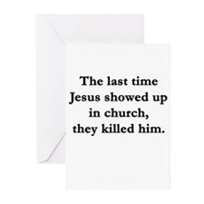Unique Offensive religious Greeting Cards (Pk of 10)