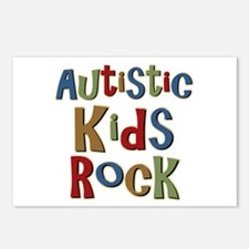 Autistic Kids Rock Postcards (Package of 8)