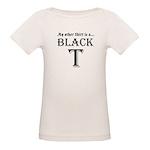 Black T Organic Baby T-Shirt