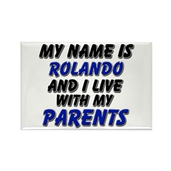 my name is rolando and I live with my parents Rect