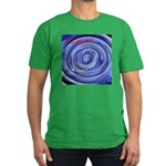 Mesmerizing wormhole Men's Fitted T-Shirt (dark)