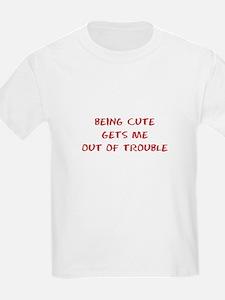 Being Cute T-Shirt