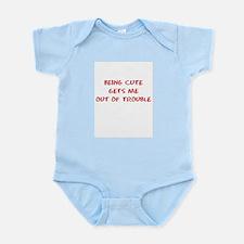 Being Cute Infant Bodysuit