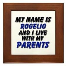 my name is rogelio and I live with my parents Fram