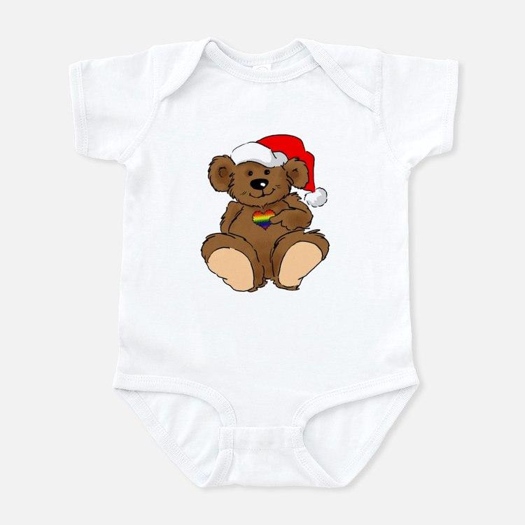 Christmas Bear Gay  Infant Bodysuit