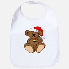 Christmas Bear Gay  Bib