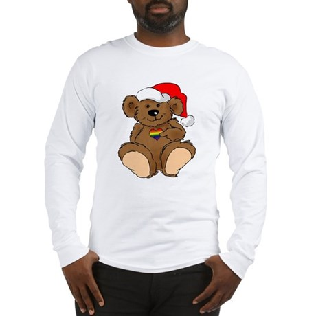 Christmas Bear Gay Long Sleeve T-Shirt