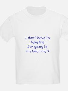 Take This Blue T-Shirt