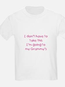 Take This Pink T-Shirt