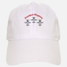 Aviation Grandpa's Wingman Baseball Baseball Cap