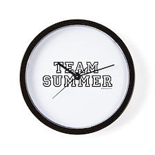 Team Summer ~  Wall Clock