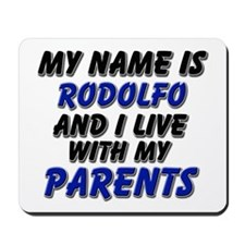 my name is rodolfo and I live with my parents Mous