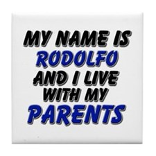 my name is rodolfo and I live with my parents Tile