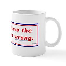 Liberals can be wrong Mug
